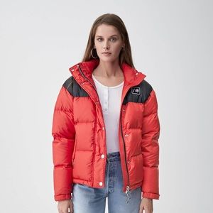 RE/DONE red puffer jacket NWT